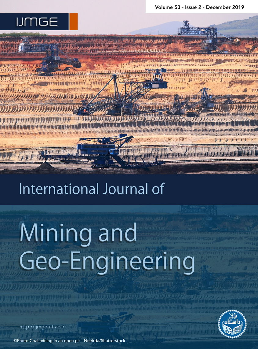 International Journal of Mining and Geo-Engineering